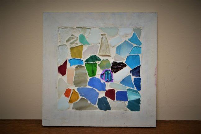 mozaika gips